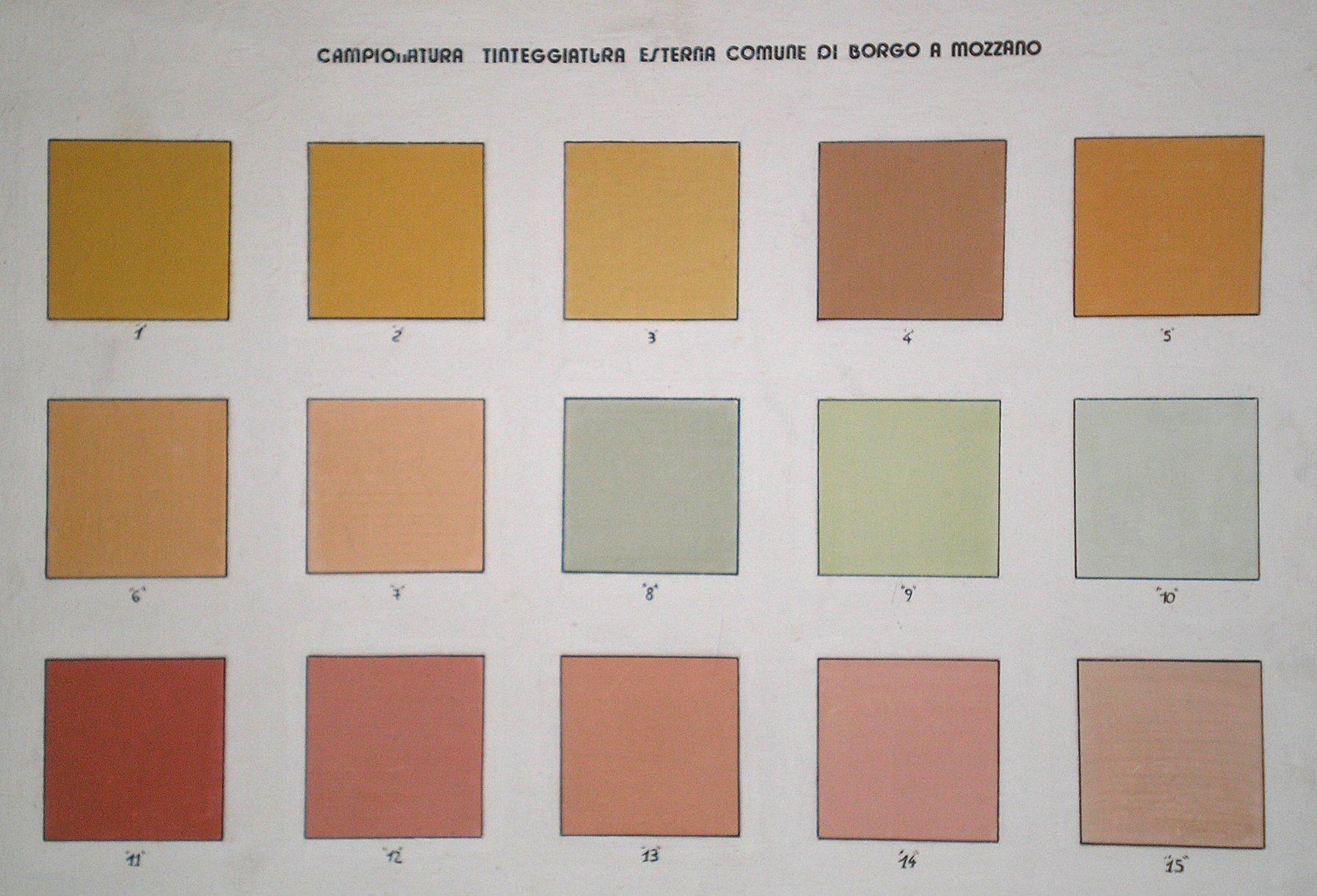 Top salvo particolari contenute negli atti se necessari - Colori per facciate esterne ...
